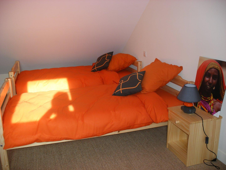 Chambre Chocolat Et Vert Anis les chambres   location grand gite la barboire - 53 mayenne